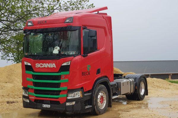Camion Beck transports SA